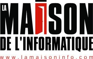 2 le logo LA MAISON DE L INFORMATIQUE