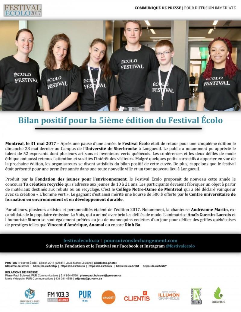 2017-05-31 - Festival Écolo